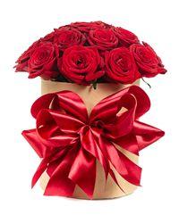 Red Rose Gift Box. Moscow